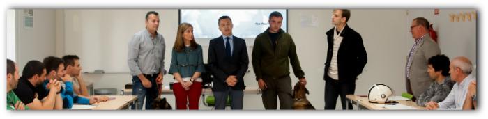 La policía de la Comunidad Autónoma de La Rioja se forma en protección animal